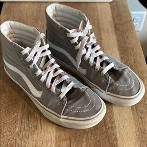 Vans Gray High Tops